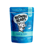 Meowing Heads Surf and Turf